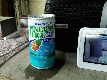 定番パイナップルジュース