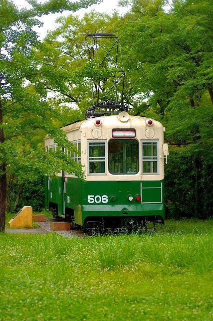 別大電車(佐野植物公園内)