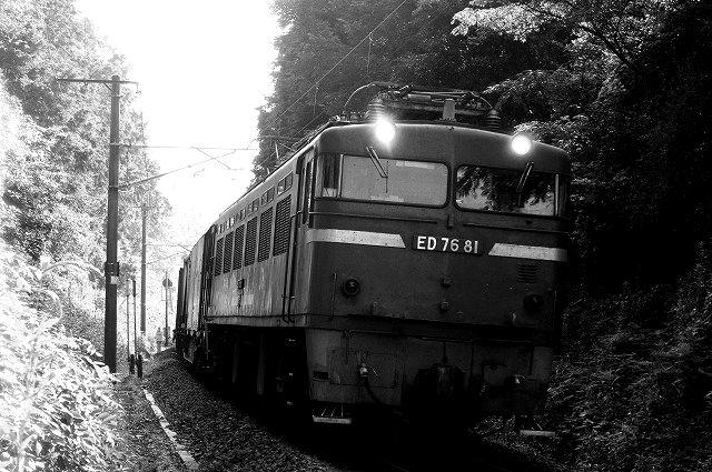 貨物列車 ED76