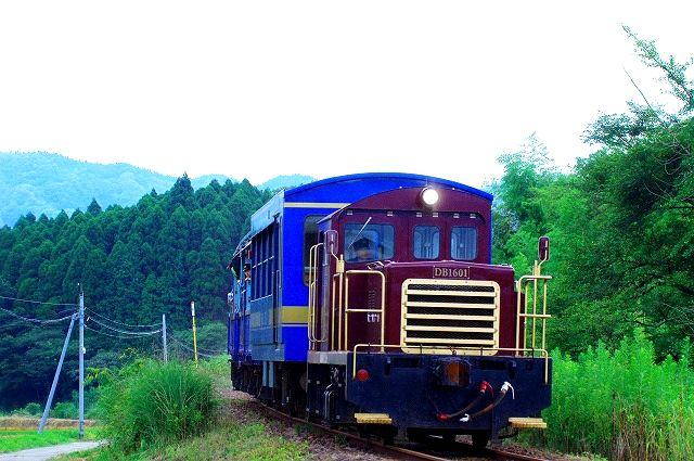 南阿蘇鉄道トロッコ列車特別運行