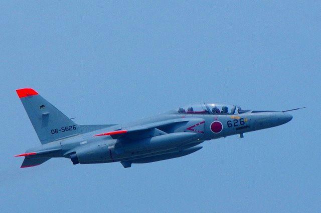 出撃航空自衛隊築城基地 T4練習機