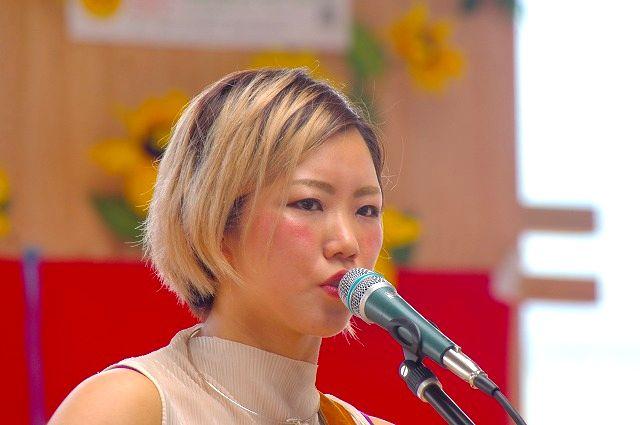 朝倉市出身の歌姫 えとぴりかさん