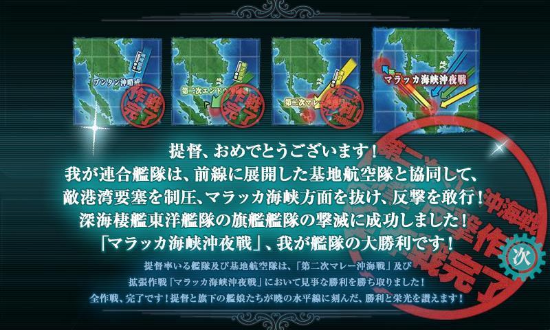 第二次マレー沖海戦 突破!