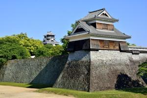 地震前の熊本城戌亥櫓