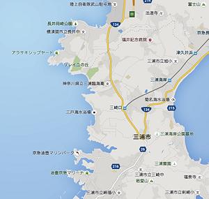 三浦半島地図