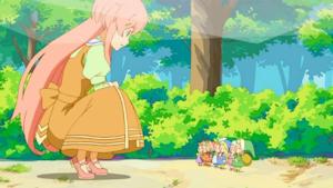 妖精さんの暇乞い
