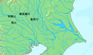 江戸時代前の関東平野