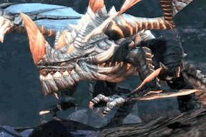 地下10階のドラゴン