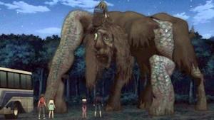 巨大ナナキ