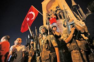 トルコのクーデター騒ぎ