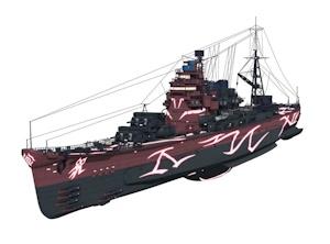 重巡洋艦タカオ本体