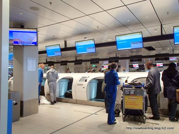 スキポ―ル空港 KLM