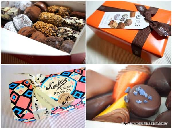 ノイハウス チョコ ベルギー お土産