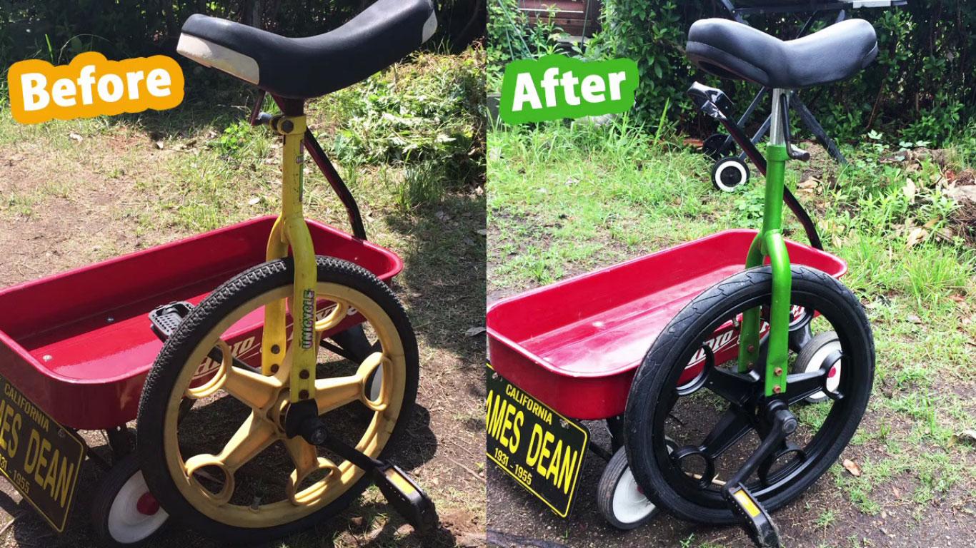 一輪車リメイク