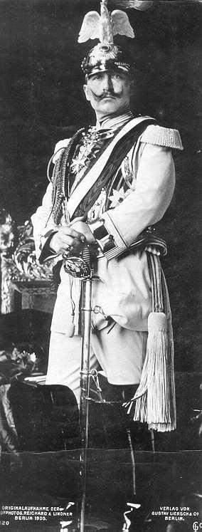 1905年、ヴィルヘルム2世
