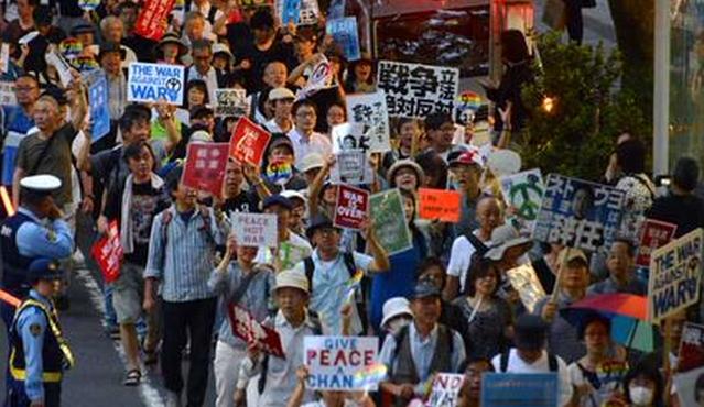 SEALDs 年寄り 2