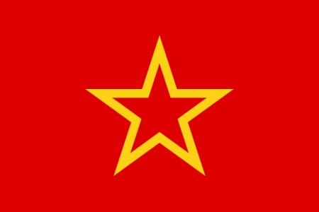 ロシア革命の赤軍の旗