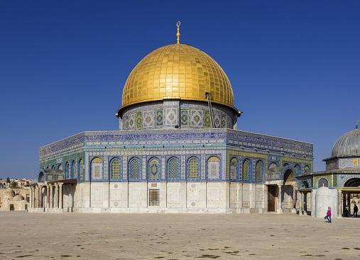 エルサレムの「岩のドーム」