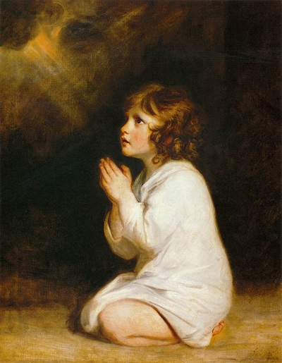 ジョシュア・レイノルズ 『幼きサムエル』1776年