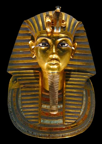 ツタンカーメン王の黄金マスク