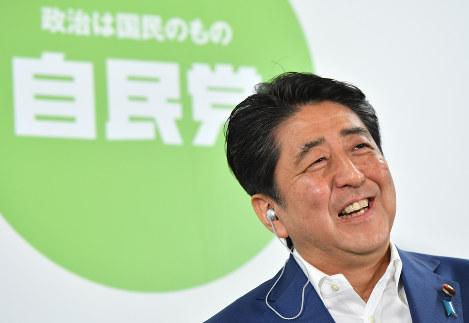 安倍総理 圧勝 2