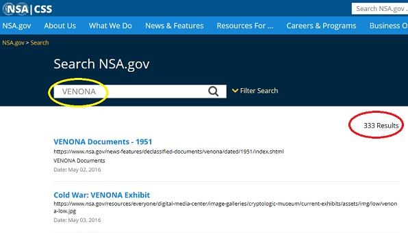 NSA ヴェノナ 2