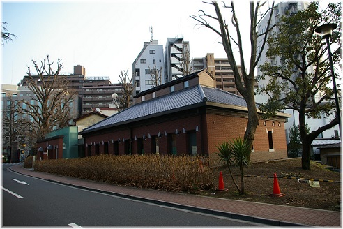 「伝染病研究所」の外観を模した近代医科学記念館