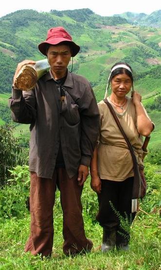 Male and female Homo sapiens sapiens in Thailand