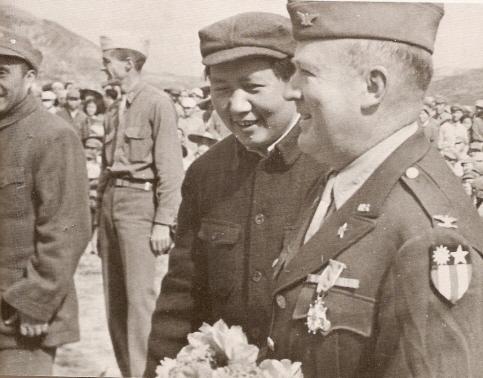 デイヴィッド・バレットと毛沢東
