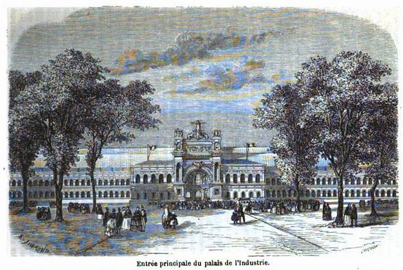 1855年のパリ万国博覧会