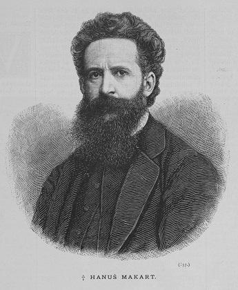 ハンス・マカルト 1884