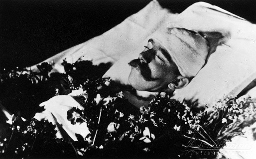 ルドルフ皇太子の遺体 1889