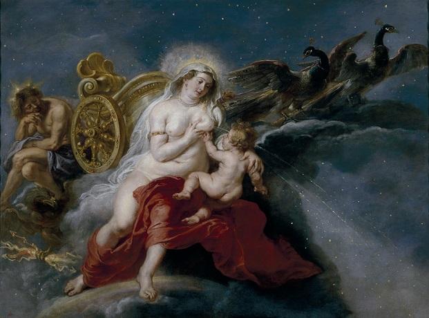 ピーテル・パウル・ルーベンス 『天の川の誕生』
