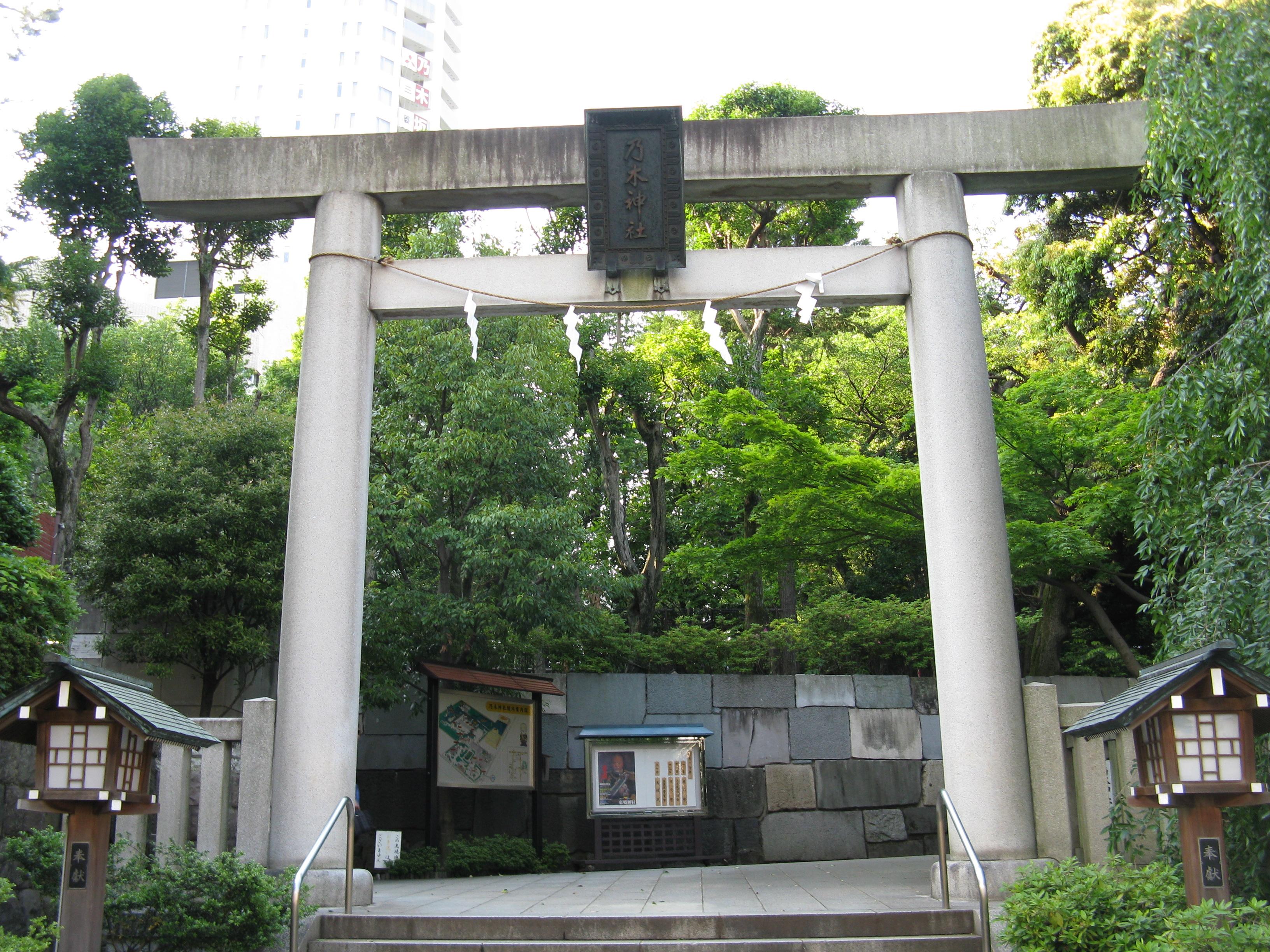 乃木神社(東京都港区)一の鳥居