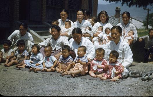 1950年代の韓国・釜山 2
