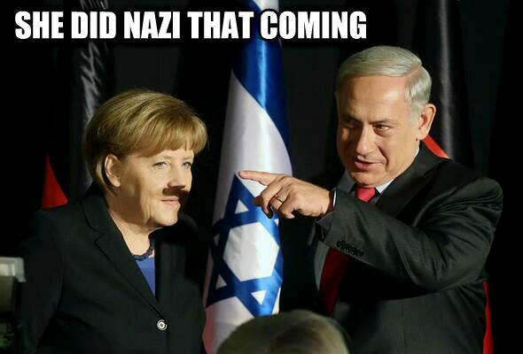 メルケル ナチ