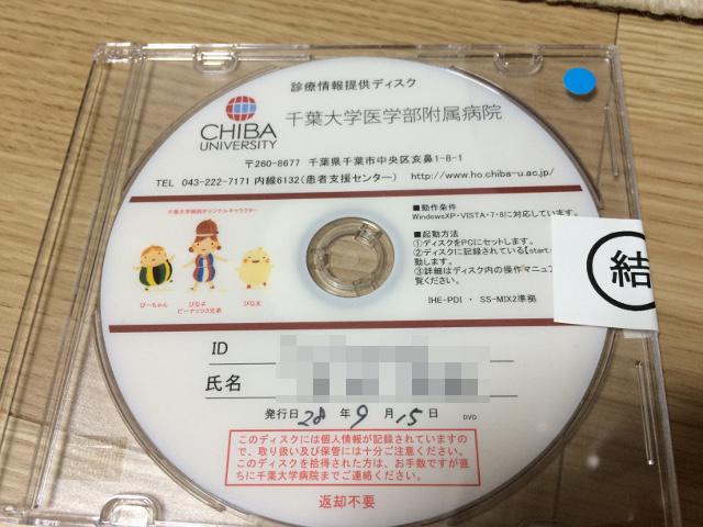 紹介状のCD-ROM