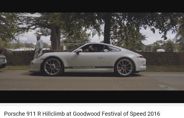 Porscheポルシェ911R_GoodWood2016_005