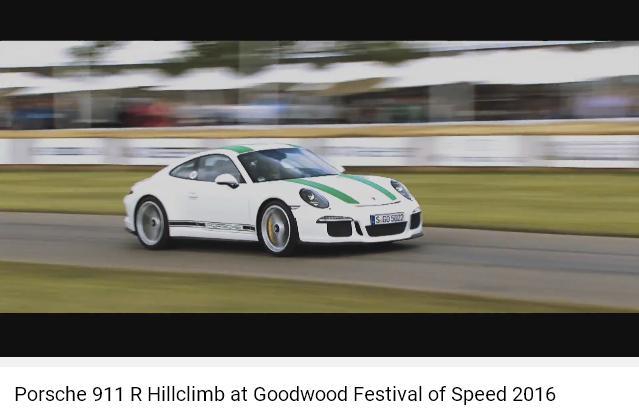 Porscheポルシェ911R_GoodWood2016_001