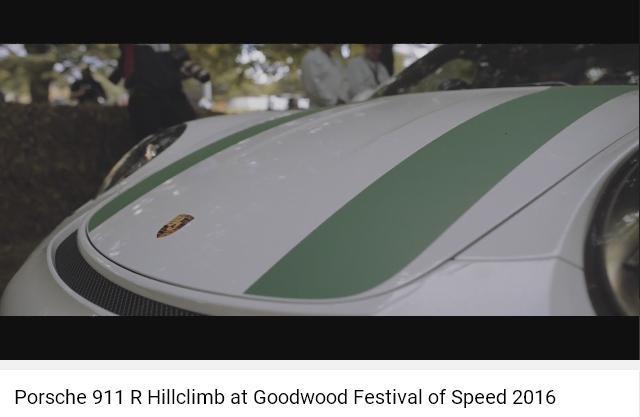 Porscheポルシェ911R_GoodWood2016_002