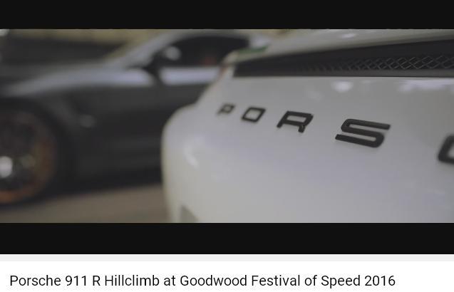 Porscheポルシェ911R_GoodWood2016_003