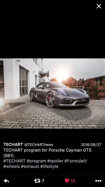 Porscheポルシェ981CaymanGTS_TW_TechArt