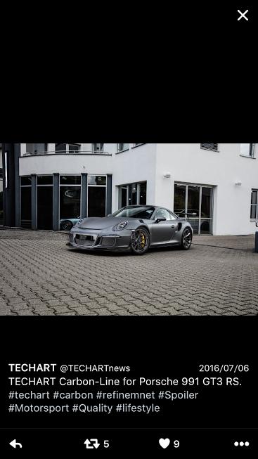 Porscheポルシェ991GT3RS_TW_TechArt