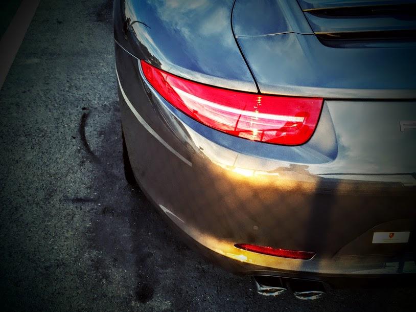 Porscheポルシェ991_Sunset991