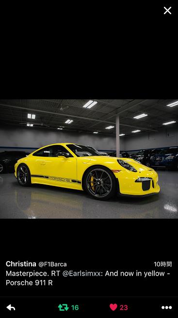 Porscheポルシェ991R_Yellow_Black_TW_20160818