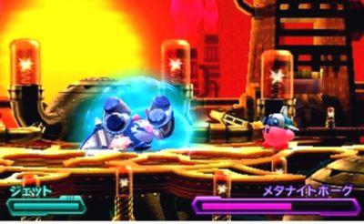 星のカービィ ロボボプラネット ボス攻略 エリア4『メタナイトボーグ』