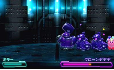 星のカービィ ロボボプラネット ボス攻略 エリア5『クローンデデデ』『クローンデデデ&D3砲』