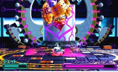 星のカービィ ロボボプラネット ボス攻略 エリア6 『プレジデント・ハルトマン』