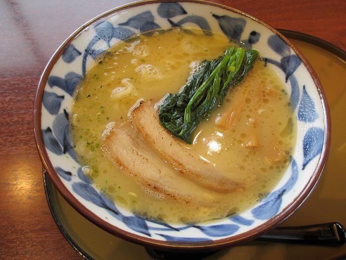 さんぽう亭五泉 鶏白湯塩ラーメン