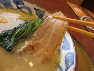 さんぽう亭五泉 鶏白湯塩ラーメン チャーシュー